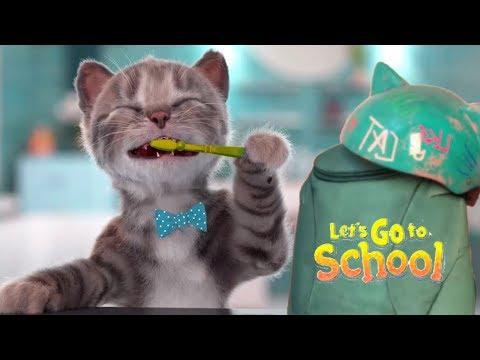 Play Fun Kitten Pet Care Kids Game  - Little Kitten Preschool - Christmas In School Learning Games