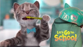 Play Fun Kitten Pet Care Kids Game  - Little Kitten Preschool - Christmas In School Learning Games