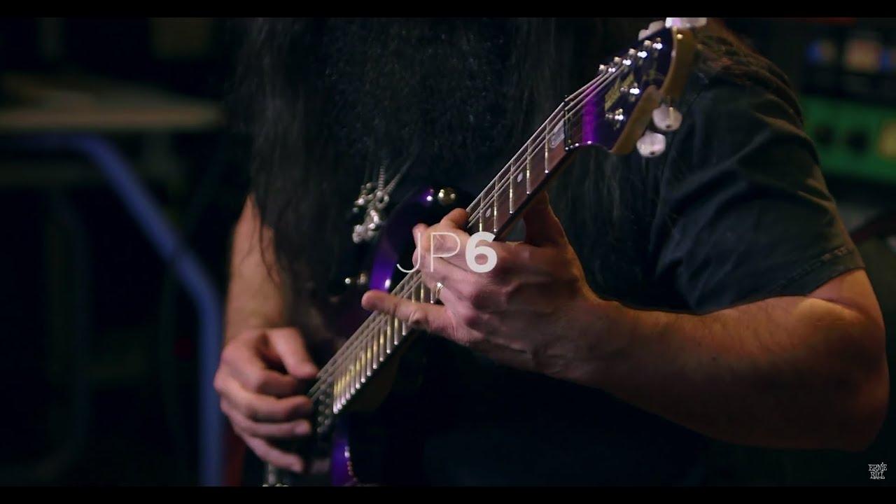 John Petrucci demos his Ernie Ball Music Man JP6