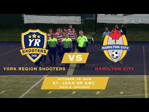 York Region Shooters vs Hamilton City - CSL Playoffs - Full Game | 10/23/16