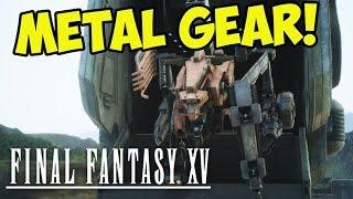 METAL GEAR BOSS! Final Fantasy XV (#9)