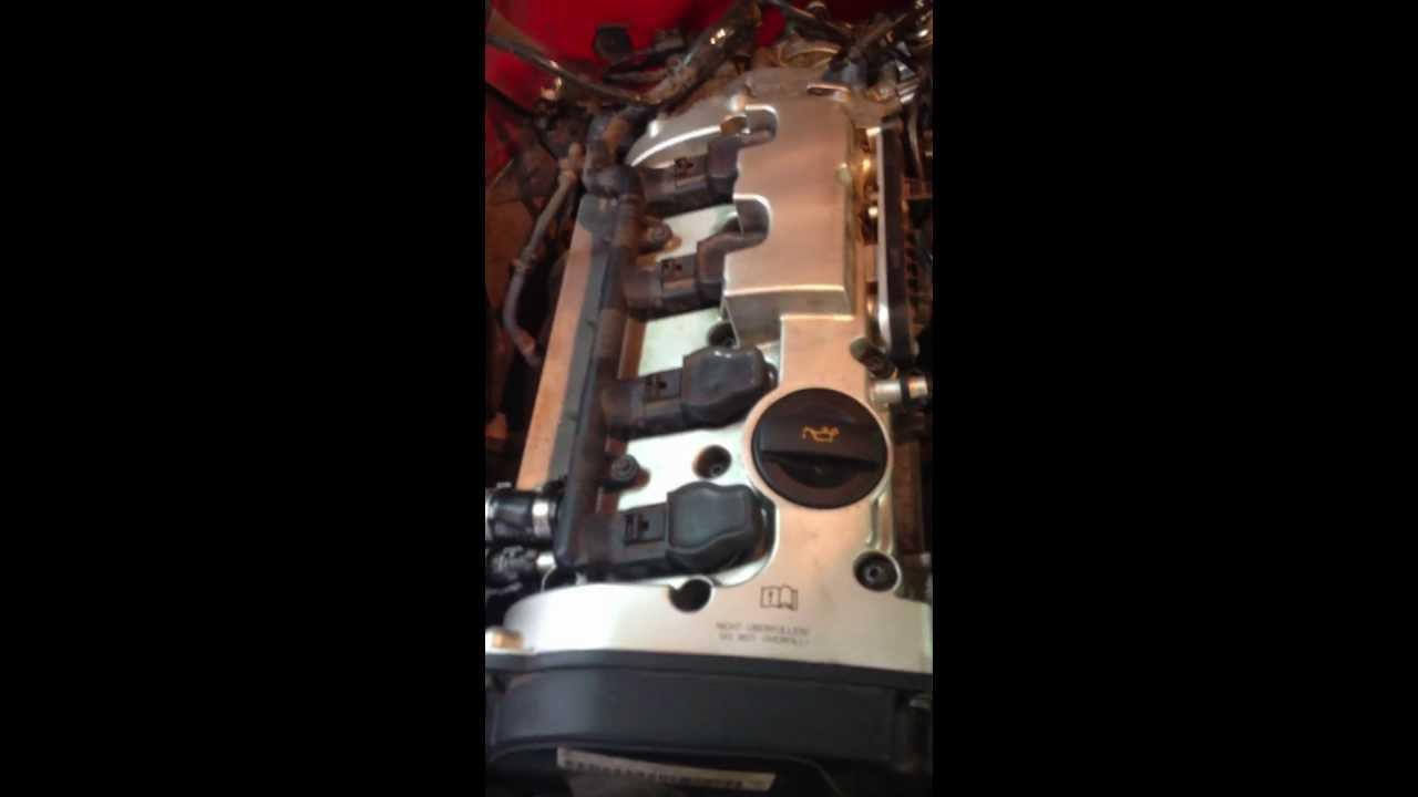 Audi A4 Quattro B7 2.0TFSI звук двигателя после ремонта