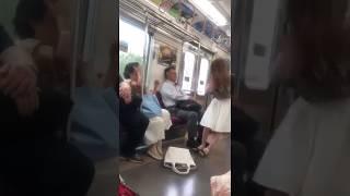 電車内女同士の喧嘩。