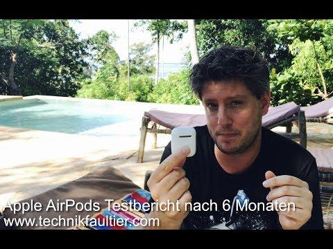 Apple AirPods Testbericht nach 6 Monaten