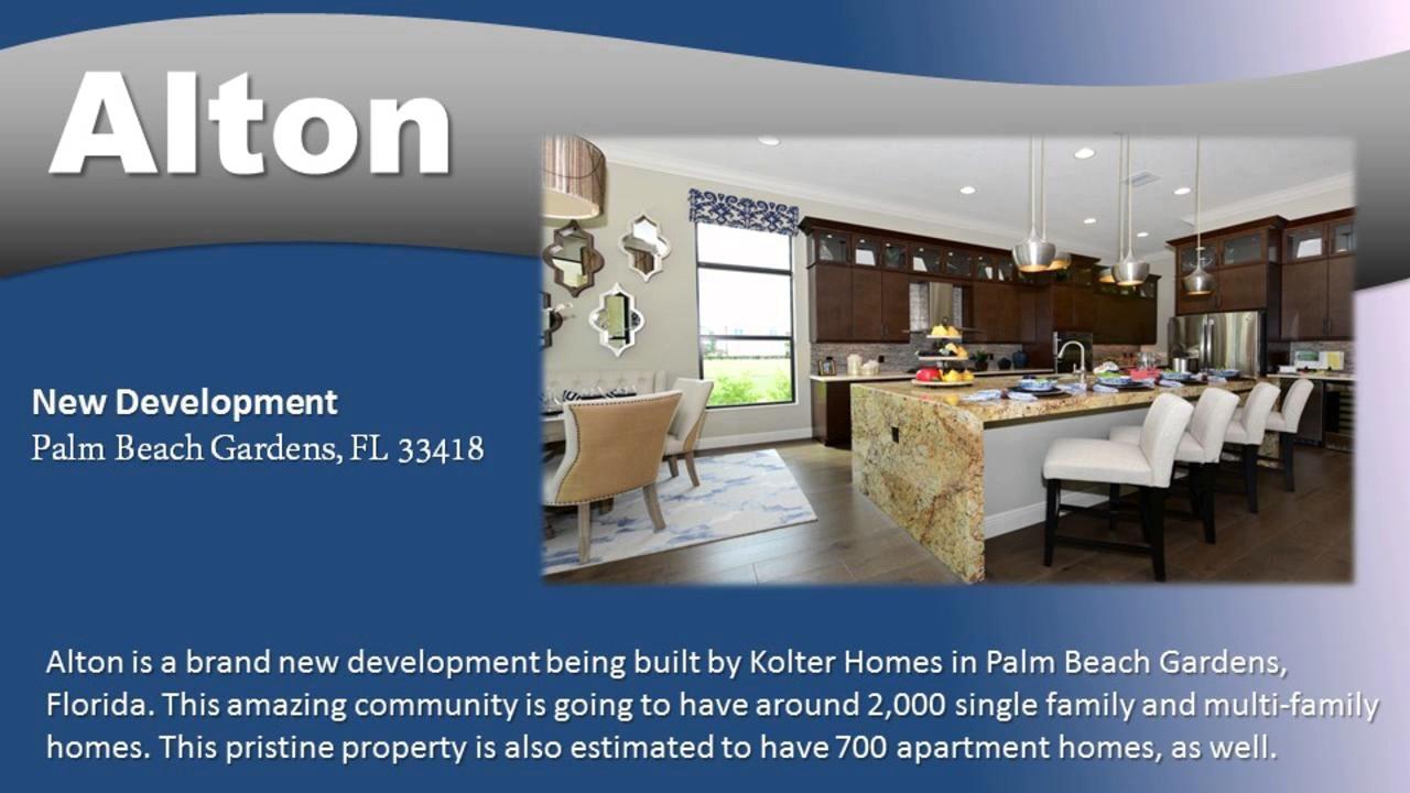 New Construction Palm Beach Gardens Alton 33418