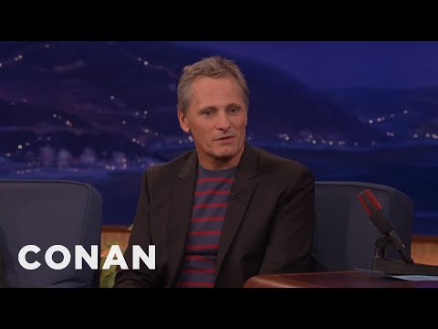 Viggo Mortensen's History Of Nudity   CONAN on TBS