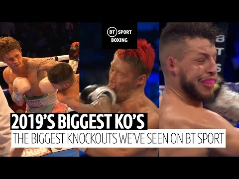 Top 10 Boxing Knockouts In 2019 On BT Sport