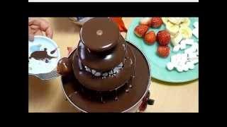 お家でチョコレートファウンテン