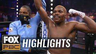 18-year-old prospect Vito Mielnicki suffers first loss to James Martin | HIGHLIGHTS | PBC ON FOX