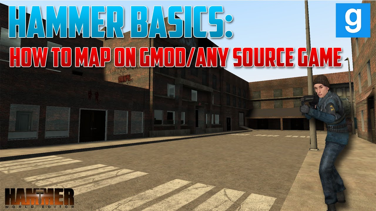 #1 Hammer Basics | Your first map | Gmod |