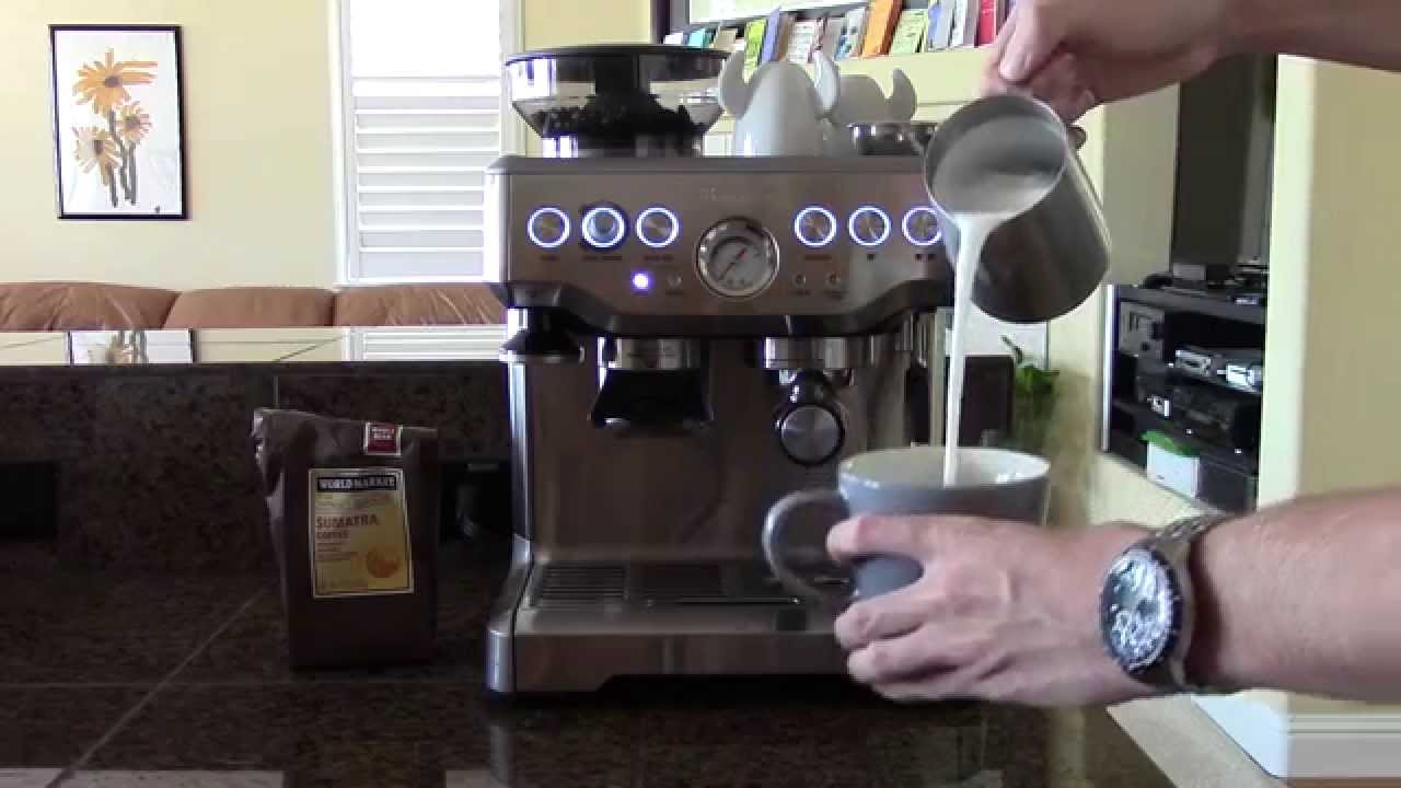 Latte on the Breville Barista Express