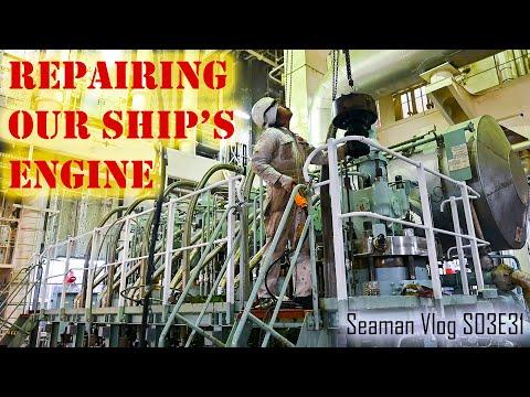 Ship Engine Troubleshooting and Repair at Tarragona Spain | Chief MAKOi