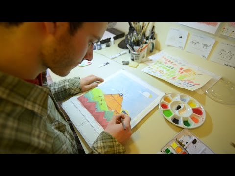 Chris Cater - Putting His Art Into It