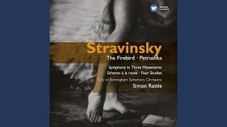 Petrushka - Scènes burlesques en quatre tableaux, Première tableau: Le tour de passe-passe -...