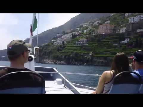 ❤Magnificent Boat Ride Sorrento - Amalfi Coast Italy.6/2015 ❤♫HD