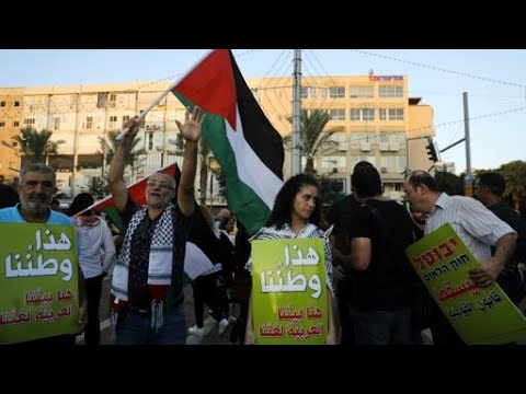 آلاف المتظاهرين في تل أبيب احتجاجا على -قانون الدولة القومية-  - 11:23-2018 / 8 / 13
