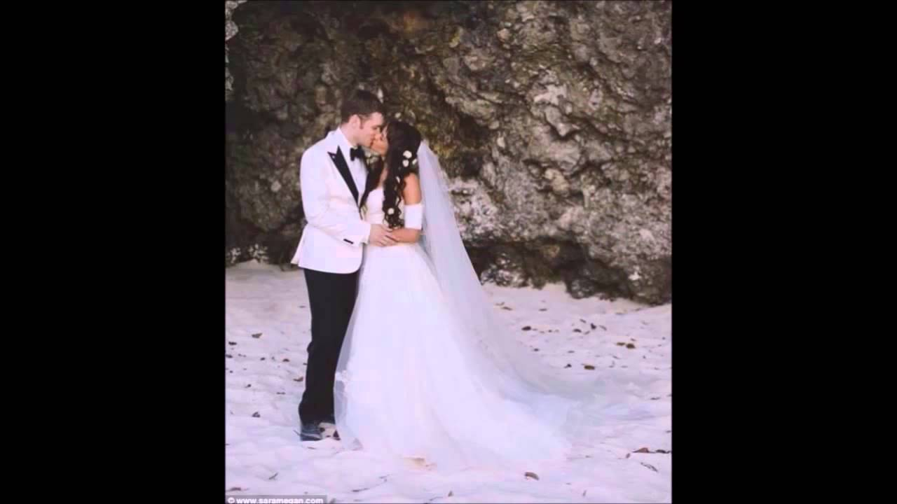 [PIC] Joseph Morgan Married — Shows Persia White In ... |Persia White And Joseph Morgan Wedding