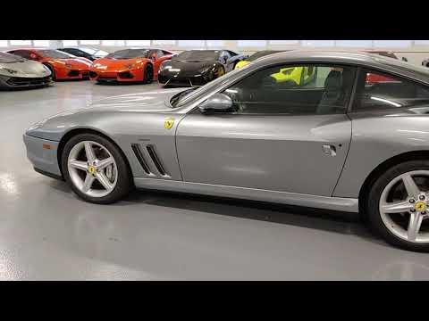 2002 Ferrari 575 M.  Walk Around Video