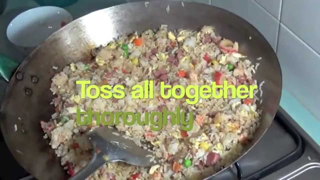 Copy of special yang chow fried rice yang zhou chao fan with copy of special yang chow fried rice yang zhou chao fan with shrimp youtube ccuart Image collections