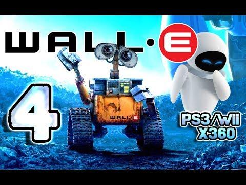 Wall-E Walkthrough Part 4 (PS3, X360, Wii) Level 4 ~ Life on the Axiom