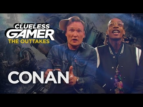 "Clueless Gamer Outtakes: ""Gears of War 4"" With Wiz Khalifa"