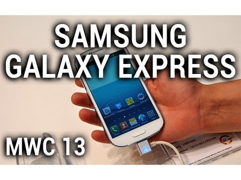 Samsung Galaxy Express, prise en main au MWC 2013 - par Test-Mobile.fr