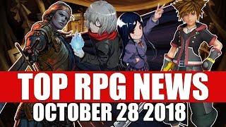 Top RPG News of the Week - Oct 28 2018 (Kingdom Hearts 3, Ushiro, Thronebreaker)