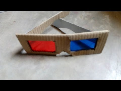 How to Make 3D Glasses and watch 3d movie  on pc