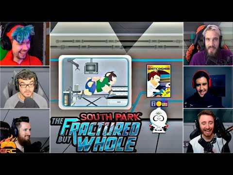 Gamers Reactions to Genetic Engineering (BUTTS) | South Park™: The Fractured But Whole