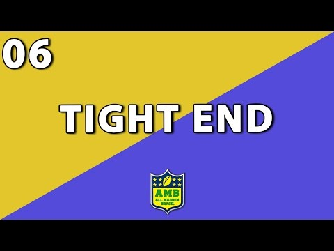 Posições do Futebol Americano - Tight End