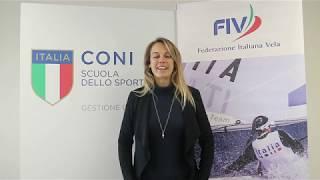 """Flavia Tartaglini al """"Corso di Formazione per Istruttori di III Livello FIV"""