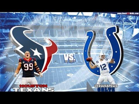 💪🏈 Houston Texans vs. Indianapolis Colts LIVE HD 🏈💪