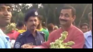 Local lawmaker Pankaj Nath inagurates Shahid Manik Shrity  football tournament