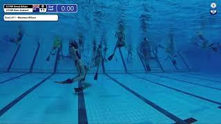 Game 191  (NZL vs GBR U19W) - 5th CMAS Underwater Hockey Age Group Worlds - Sheffield, UK (Court A)