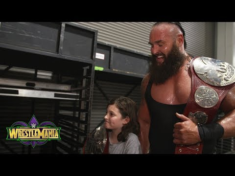 Why Braun Strowman picked a kid as his WrestleMania partner: Exclusive, April 8, 2018