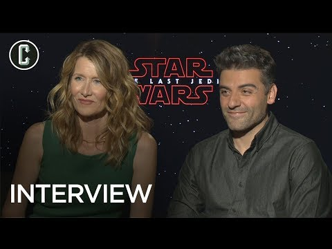 Oscar Isaac & Laura Dern on 'Star Wars: The Last Jedi', LGBT Representation, and More