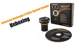 Celestron NexImage 5 Solar System Imager - Unboxing