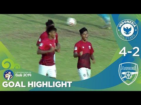 Goal Highlight - Indonesia All Stars U20 (4) Vs (2) Arsenal U20   U20 International Cup Bali 2019