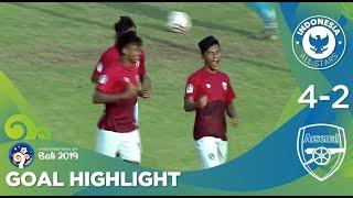 Goal Highlight - Indonesia All Stars U20 (4) vs (2) Arsenal U20 | U20 International Cup Bali 2019.mp3