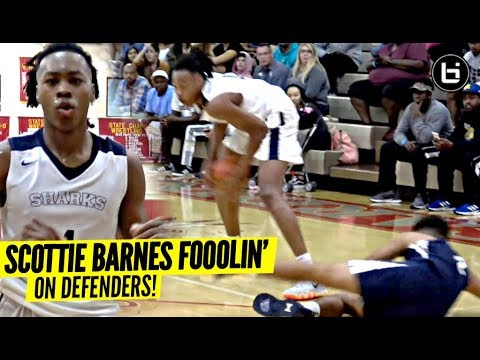 Scottie Barnes Out Here FOOLIN!!! The #2 Player In Class of 2020!!!