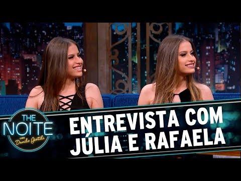 Entrevista com Júlia e Rafaela  The Noite 280717
