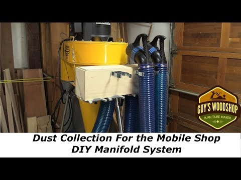 Dust Collection For the Mobile Shop - DIY Manifold System