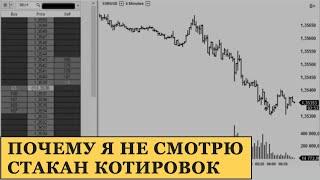 Скальпинг Стакан Котировок / Почему Я Не Использую Стакан