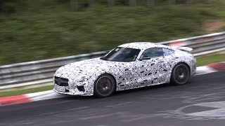 2015 Mercedes-AMG GT S Edition 1 spied testing on the Nurburgring!