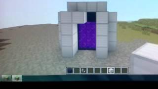 как сделать портал в ад в Minecraft