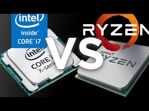 AMD Ryzen VS Intel Core X - Price To Performance