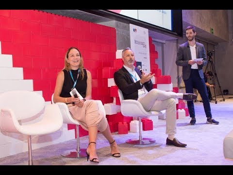 Rafael Vogel (Lima Consulting Group) and Gabriela Monteiro (Sanofi) @ French Tech Tour 2018