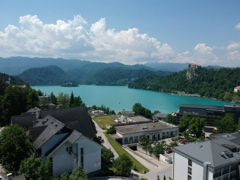 A plot of building land in the very center of Bled, Slovenia for sale.