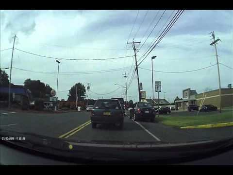 Crazy New York Drivers (dash Cam)