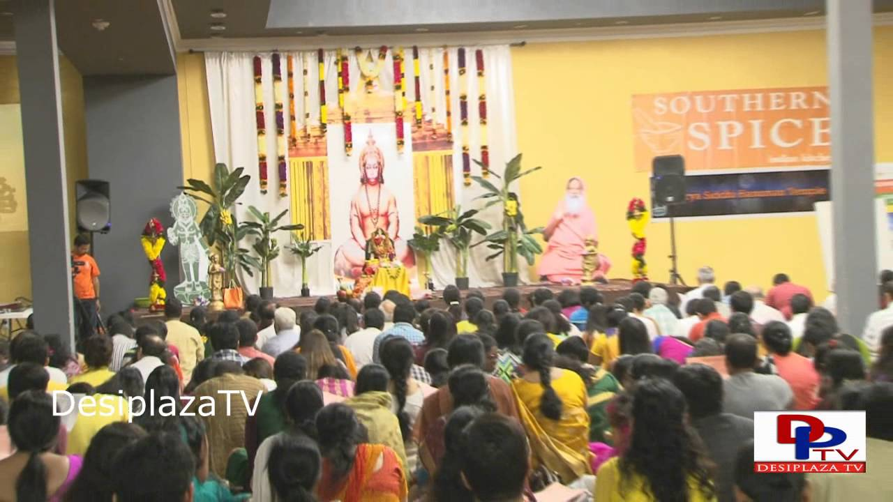 Visuals of Hanuman Chalisa Chanting in Irving, Texas